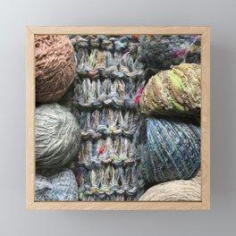 Knitter II Framed Mini Art Print