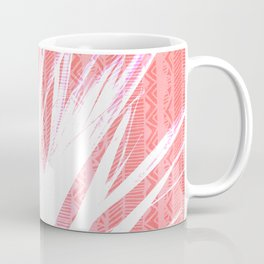NL 15 Pink & White Tribal Grass Coffee Mug