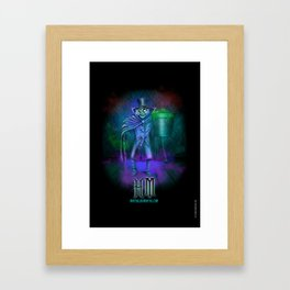 Hat Box Ghost by Topher Adam Framed Art Print