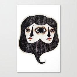 Asymmetry Canvas Print