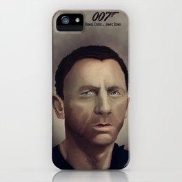 Daniel Craig iPhone Case