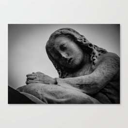 The Weeping Woman Canvas Print