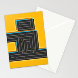 I for Itinerary Stationery Cards