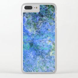 Moment of Epiphany: Royal Blue Version Clear iPhone Case