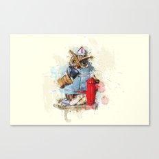 FireOwl Canvas Print