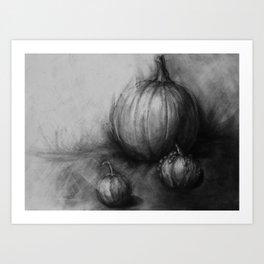 Harvest Season Art Print