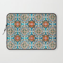 Seamless Floral Pattern Ornamental Tile Design : 1 Laptop Sleeve