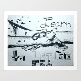 Hard Lessons Art Print