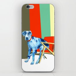Great Dane in Chair #1 iPhone Skin
