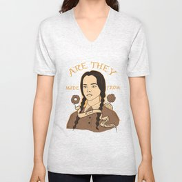 Wednesday Addams - Girl Scouts Unisex V-Neck