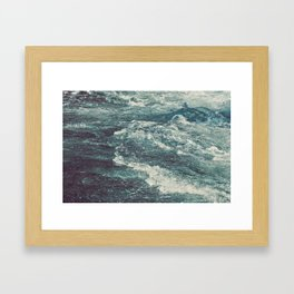 River Water Framed Art Print
