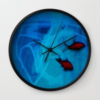 ships Wall Clocks featuring FISH&SHIPS by lucborell