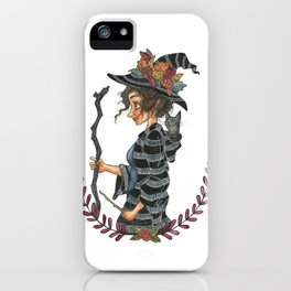 Wandering Witch iPhone Case