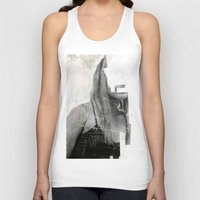 number Tank Tops featuring Faceless | number 03 by FAMOUS WHEN DEAD