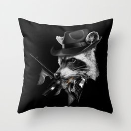 Mafia Throw Pillow