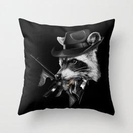 Mafia Throw Pillow