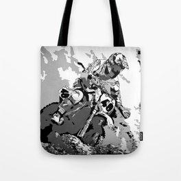 Motocross Dirt-Bike Championship Racer Tote Bag