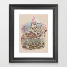 Journey Through The Garden Framed Art Print