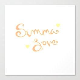 Summa Love Canvas Print
