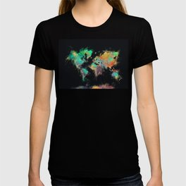 world map 107 #worldmap #map T-shirt