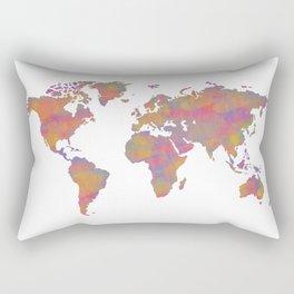 Colour Map Rectangular Pillow