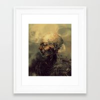 android Framed Art Prints featuring Android by nlmda