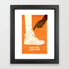 White Men Can't Jump Framed Art Print