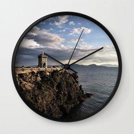 Sea Tower Wall Clock