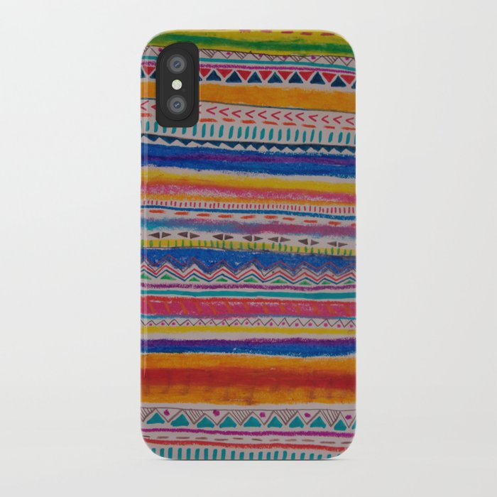 TRIBAL CRAYON / iPhone Case
