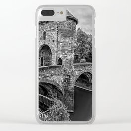 The Gateway To Monmouth Clear iPhone Case
