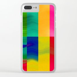 Color-emotion II Clear iPhone Case