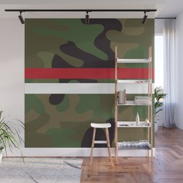 Pattern Army Camouflage Wall Mural