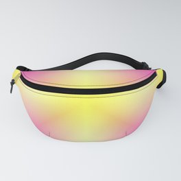 Yellow Cross Pink Star Fanny Pack