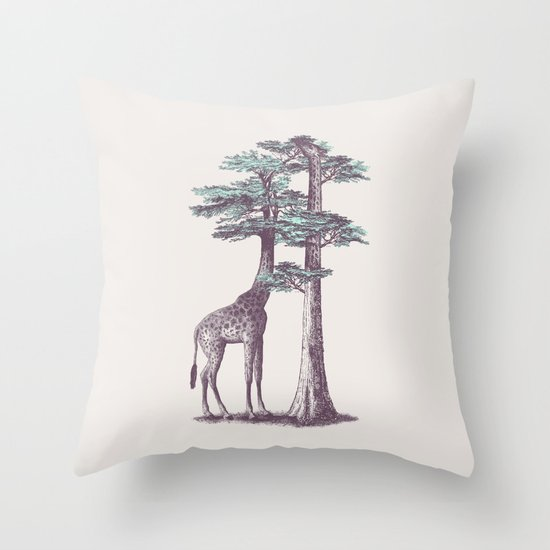 Fata Morgana Throw Pillow