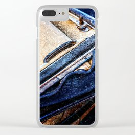 Vintage Car - Velvet Luxury Clear iPhone Case