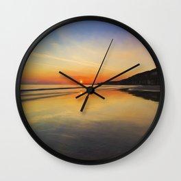 Dawn colours Wall Clock
