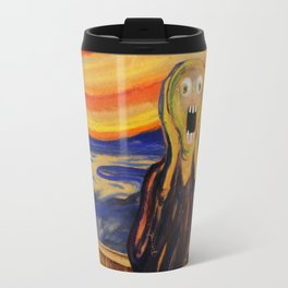 The Screamer - Really Freaked Out Travel Mug