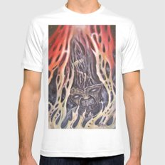 Hothead White Mens Fitted Tee MEDIUM