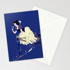 Snow Bike Stationery Cards
