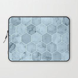 Bright Blue Tiles Laptop Sleeve