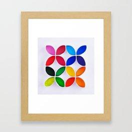 Colores Framed Art Print