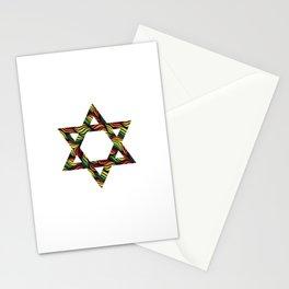 Star of David (Zion) Rasta Stationery Cards