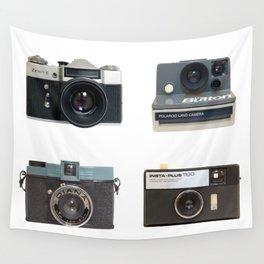 Instamatic Camera Wall Tapestry