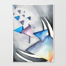 Reentry Canvas Print