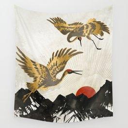 Elegant Flight II Wall Tapestry