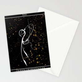 A Tarot of Ink 13 Queen of Pentacles Stationery Cards