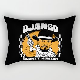 Bounty Hunter Rectangular Pillow