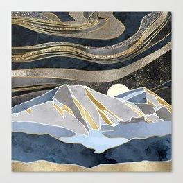 Metallic Sky Canvas Print
