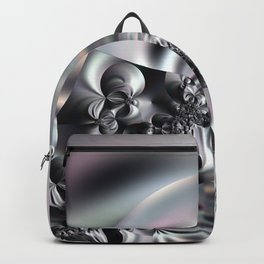 Complexity under smooth simplicity - Abstract play with focus Backpack