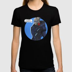 Garrus Womens Fitted Tee Black MEDIUM